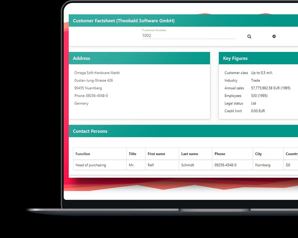 ERPConnect Services Screenshot